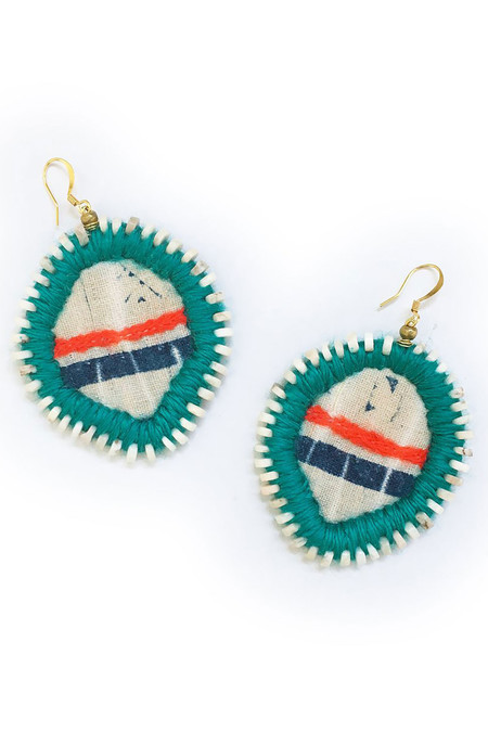 Gaia Empowered Women Santorini Earrings
