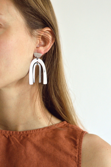Seaworthy Belleza Earrings in Silver
