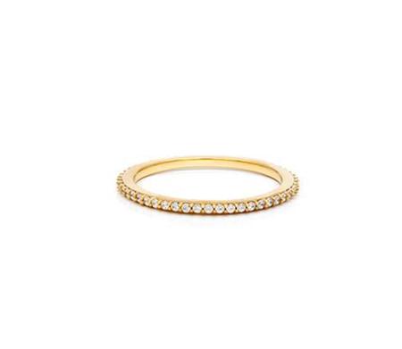 Leah Alexandra   Glint Ring in Gold + CZ