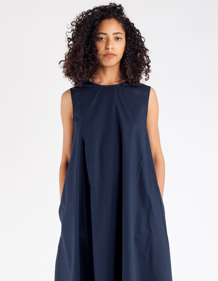 Kowtow Make Believe Dress Navy