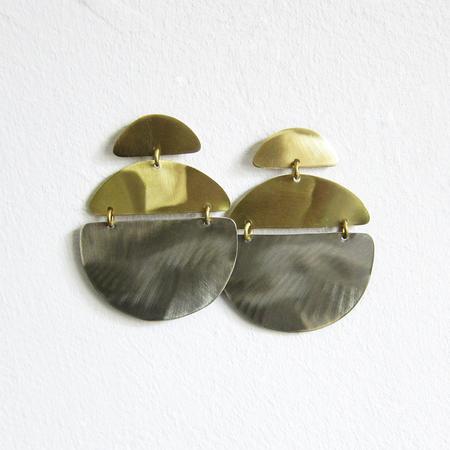 Sibilia ladybug earrings