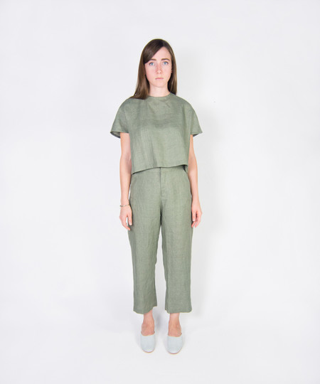 Kaarem Pebble Relaxed Pocket Pant