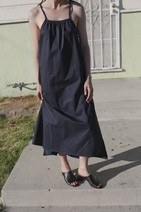 PRIORY Pytha Dress in Navy