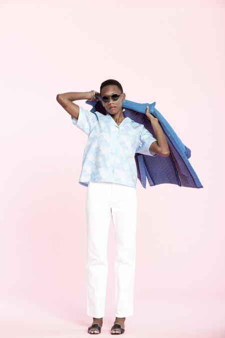 Carleen One-tone Jeans - White