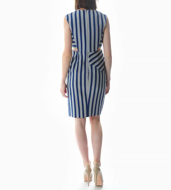 Mason By Michelle Mason Asymmetrical Dress with Cutouts