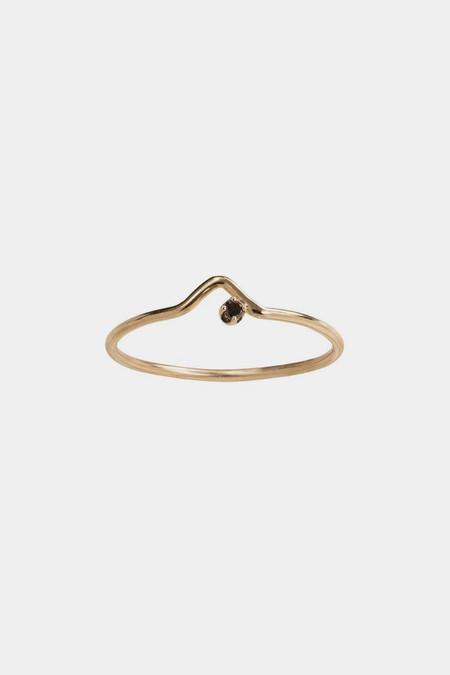 WWAKE 10K Gold Triangle Lineage Ring