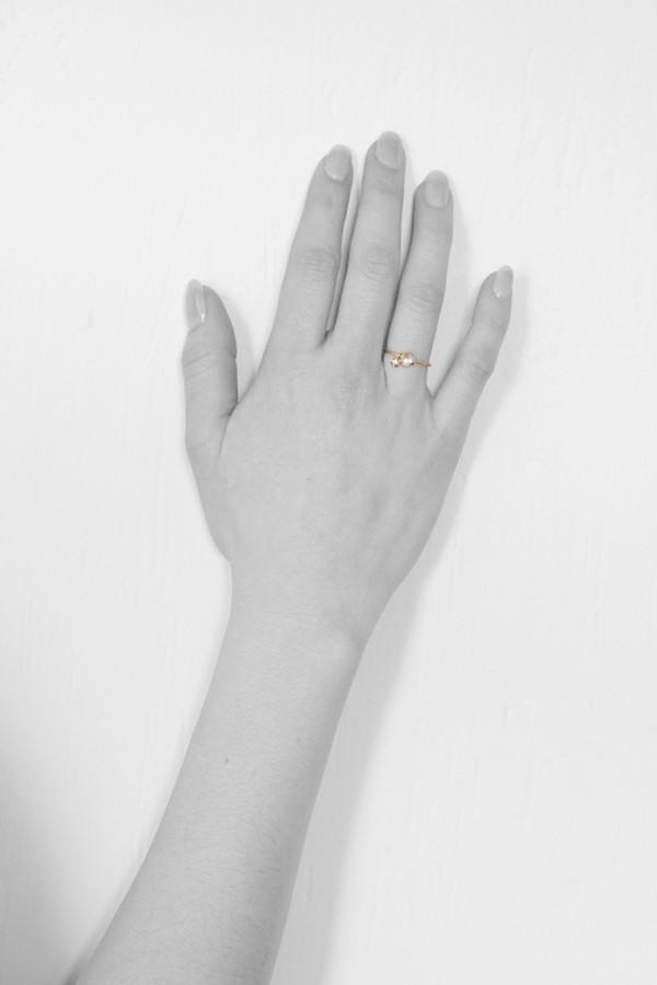 Sara Lasry Gold Round Toy Ring