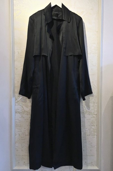 RtA Karina Silk Duster Coat