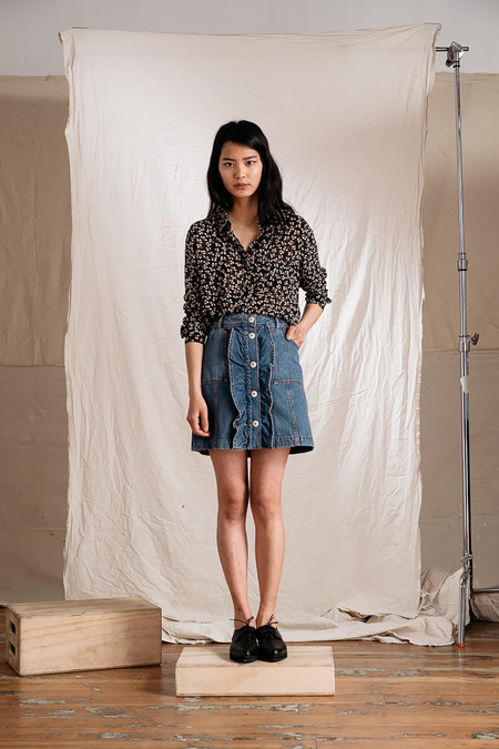 Ganni Newman Georgette Shirt