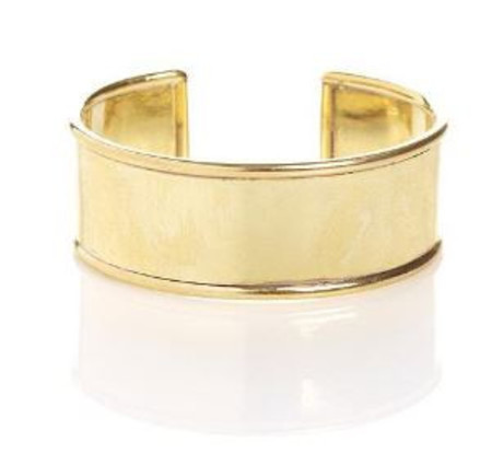 """Winifred Grace 1"""" cuff with round edges"""