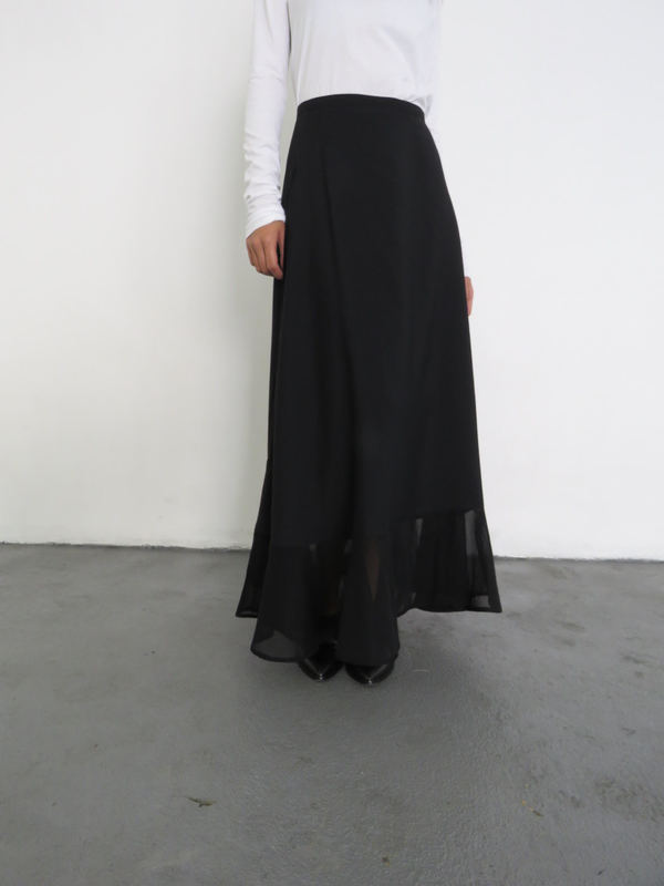 SAMUJI CARMELLE SKIRT - BLACK