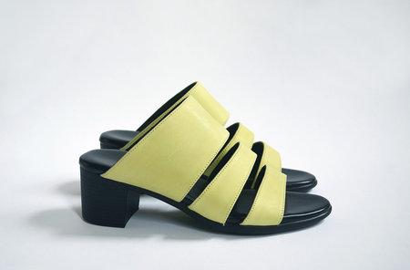 HOPP Three Strap Sandal - Chartreuse