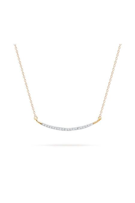 Adina Reyter Large Pave Curve Necklace