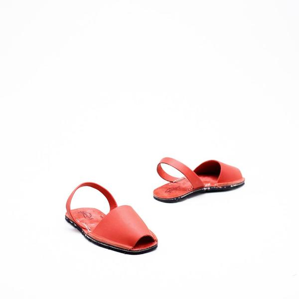 Riudavets Avarca Sandals - Red