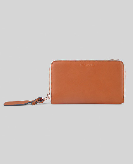 The Horse Block Wallet in Tan
