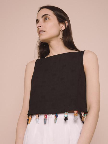 Rachel Antonoff Kishi Worry Doll Top