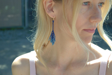 Blackbird Dagger Cajal Earrings