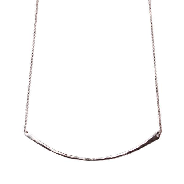 Tiffany Kunz Silver Bar Necklace