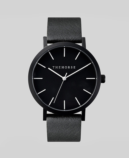 The Horse Watch in all Black