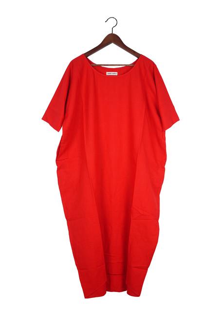 Rachel Craven Long Cocoon Dress - Poppy Linen