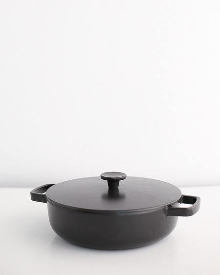 Crane Cookware Saute Pan w/ Lid