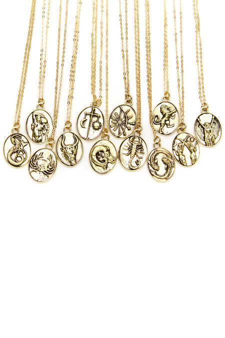 Talon Gold Aquarius Necklace