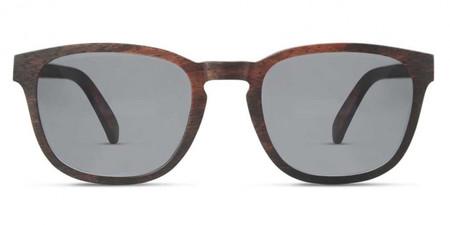Finlay & Co Bowery Ebony Wood Sunglasses