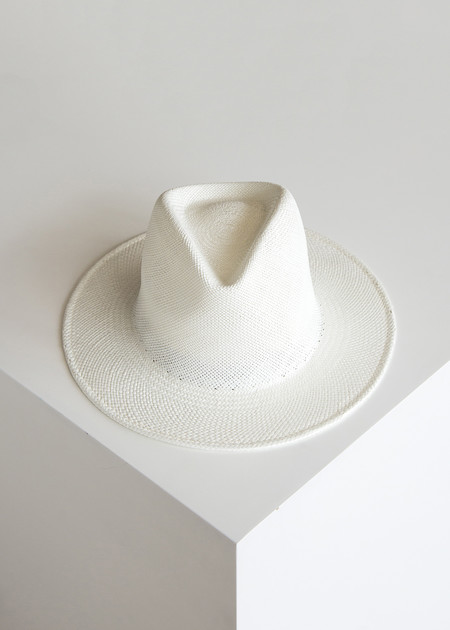 Clyde Shade Panama Hat White/Panama Straw