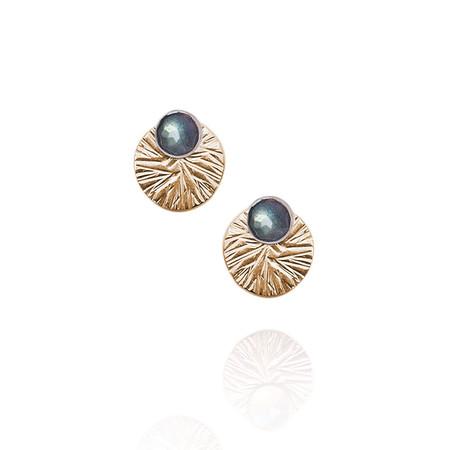 Strut Jewelry – Textured Circle Ear Jacket