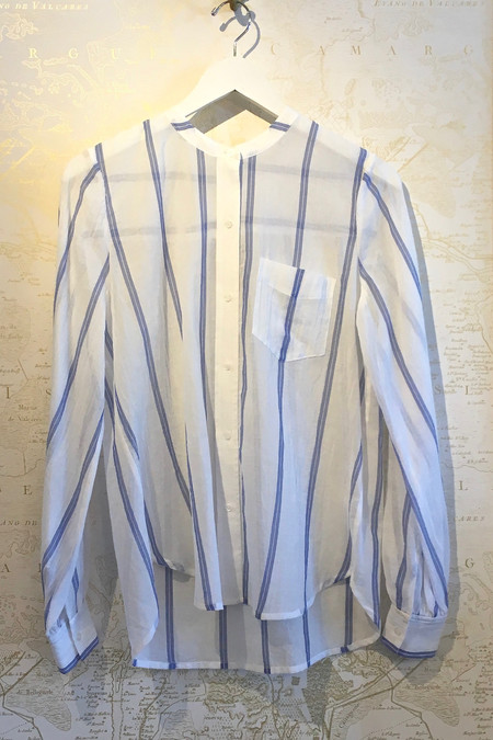 A.L.C. 'Walter' Stripe Oxford Top