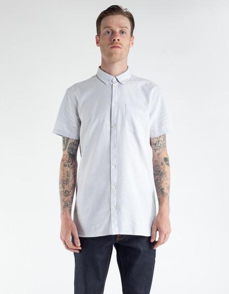 Minimum Bellino Short Sleeve Shirt White