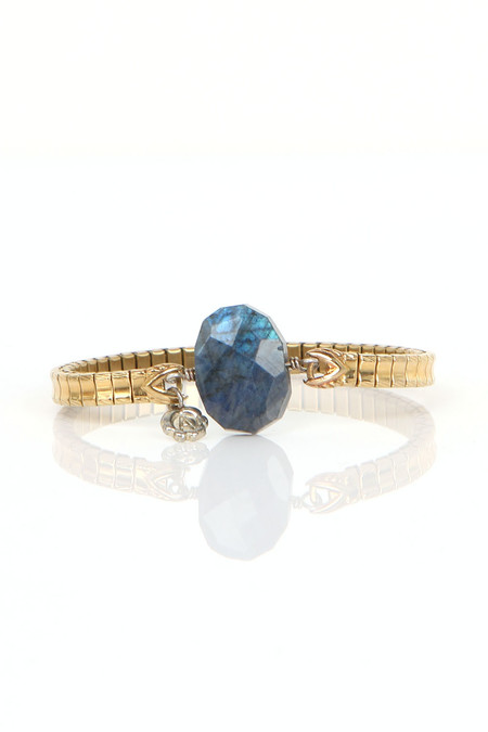 The Artemisian Labradorite Gold Bracelet