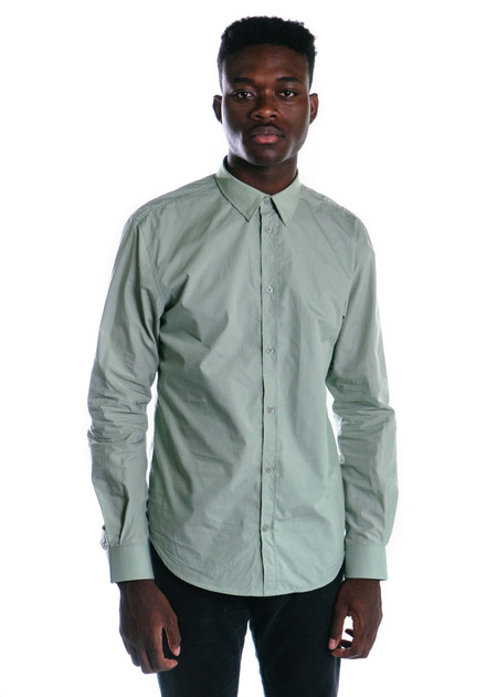 Norse Projects Osvald Classic Poplin (Perimeter Green)