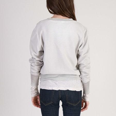 Cotton Citizen Milan Sweat Shirt - Silver Stone