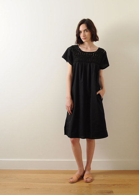 Conifer Peasant Dress