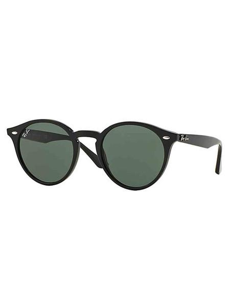Ray-Ban 2180 Sunglasses Black Green Classic