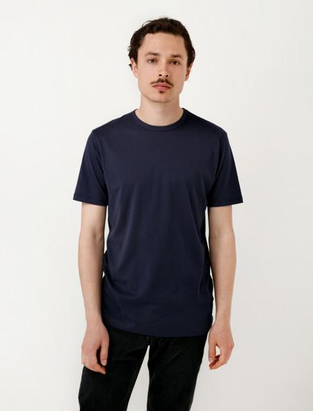 Sunspel  Short Sleeve T-Shirt Navy