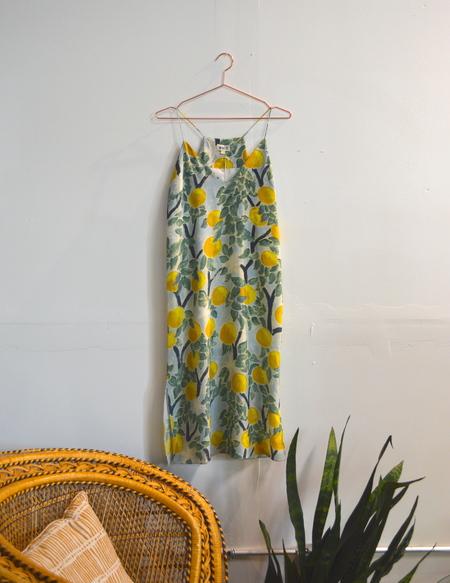 Grove Print Slip Dress