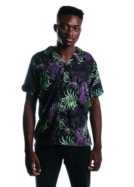 Native Youth Hornsea Shirt (Black)