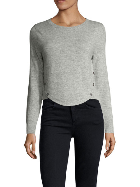Cosette Clothing Aileen Sweater Top Grey