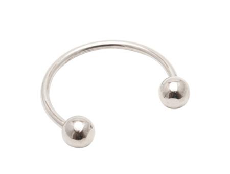 Maslo Jewelry Maslo : Silver Sphere Cuff