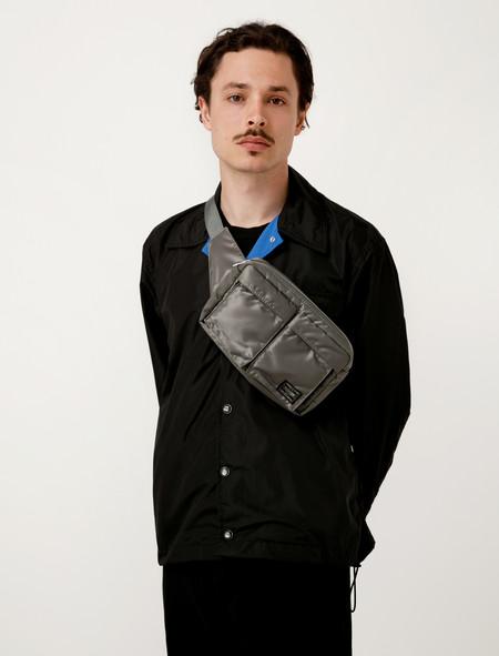 Porter Tanker Waist Bag - Silver Grey