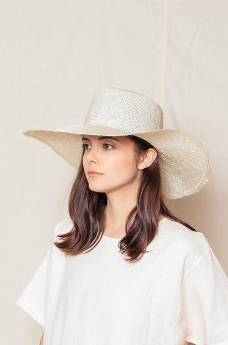 Brookes Boswell Optimo Sisal Straw Hat