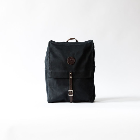 Duluth Pack Black Wax Laptop Pack