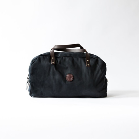 Duluth Pack Black Wax Travel Duffel