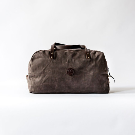 Duluth Pack Brown Wax Travel Duffel