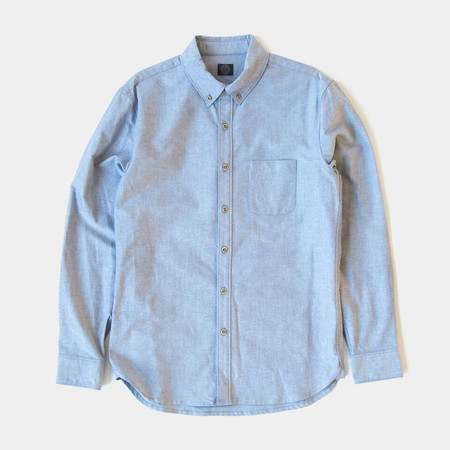 Wilson & Willy's Carver Shirt - Navy Oxford
