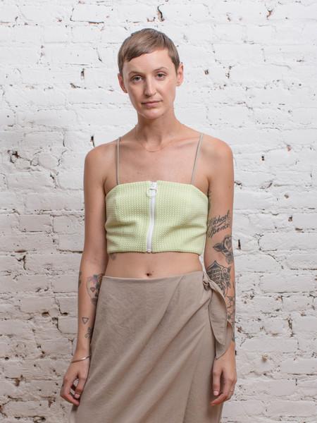 IGWT Bowline Bandeau / Green Knit Raschel