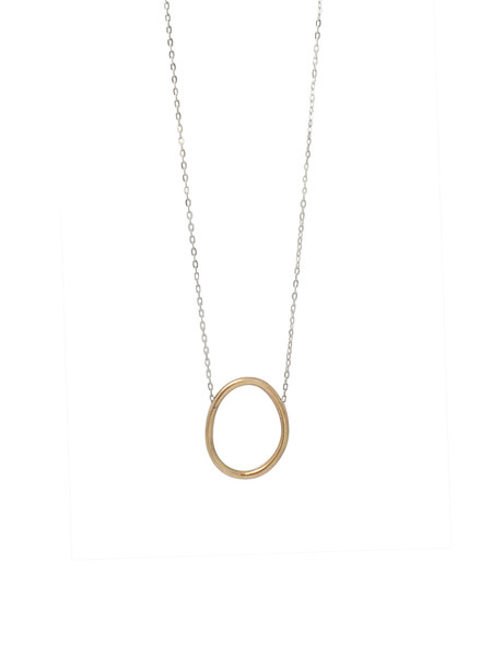 IGWT Cory Long Necklace / Brass