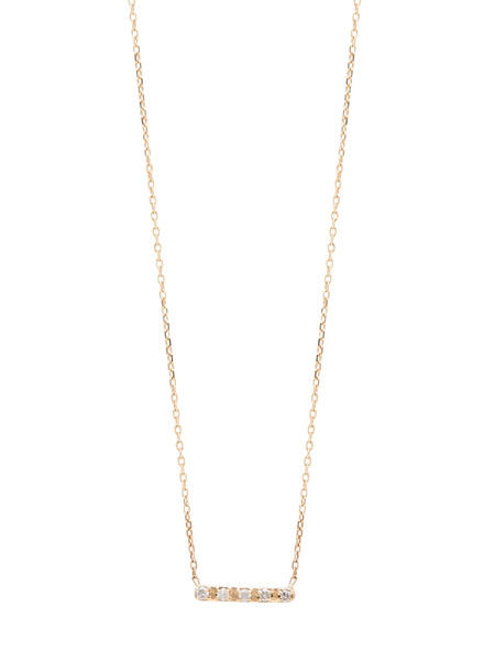 IGWT Diamond Bar Necklace - Gold